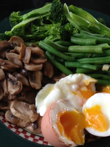 Protein Breakfast with Veggies