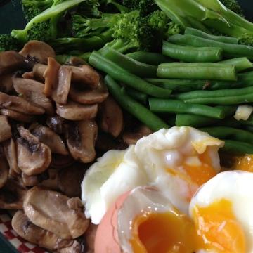 Protein Breakfast with Veggies