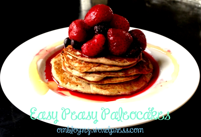 Easy Peasy Paleocakes!