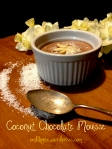 Easy Coconut Chocolate Mousse Finished omblog coconut cream chocolate mousse healthy pale nutrition nutritious dairy free gluten free refined sugar free