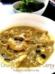Paleo Creamy Coconut Fish Curry
