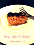 Honey Glazed Salmon with garlic