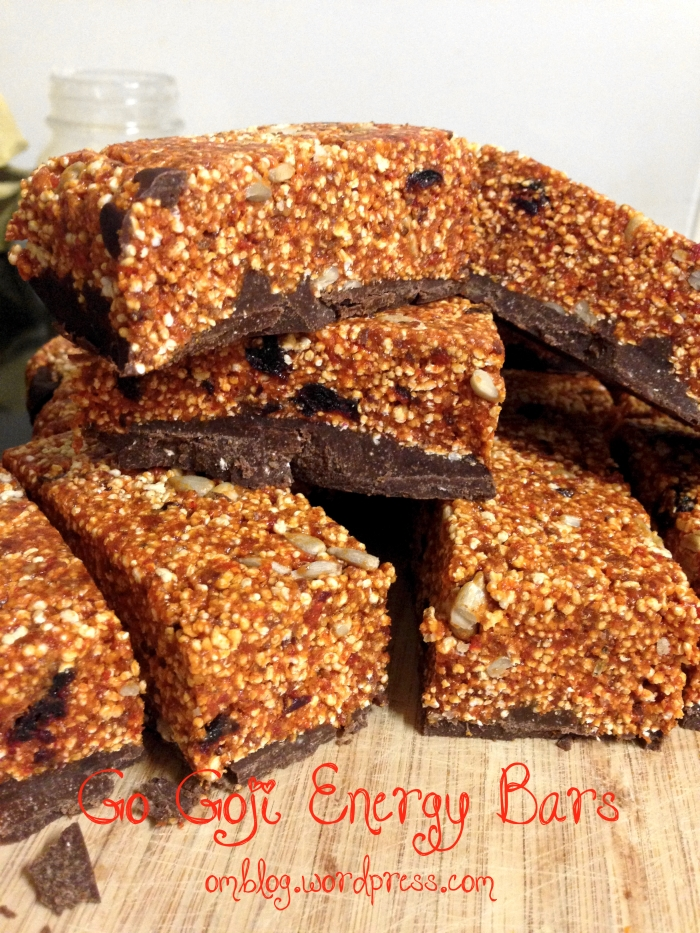 Go Goji! Superfood energy bars