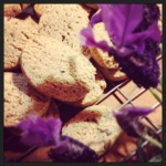Lavender Lemon Almond Biscuits