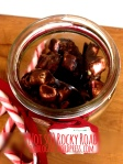 Healthier version of christmas treat rocky road, made with omblog real deal paleo chocolate, seeds, nuts and marshamallows