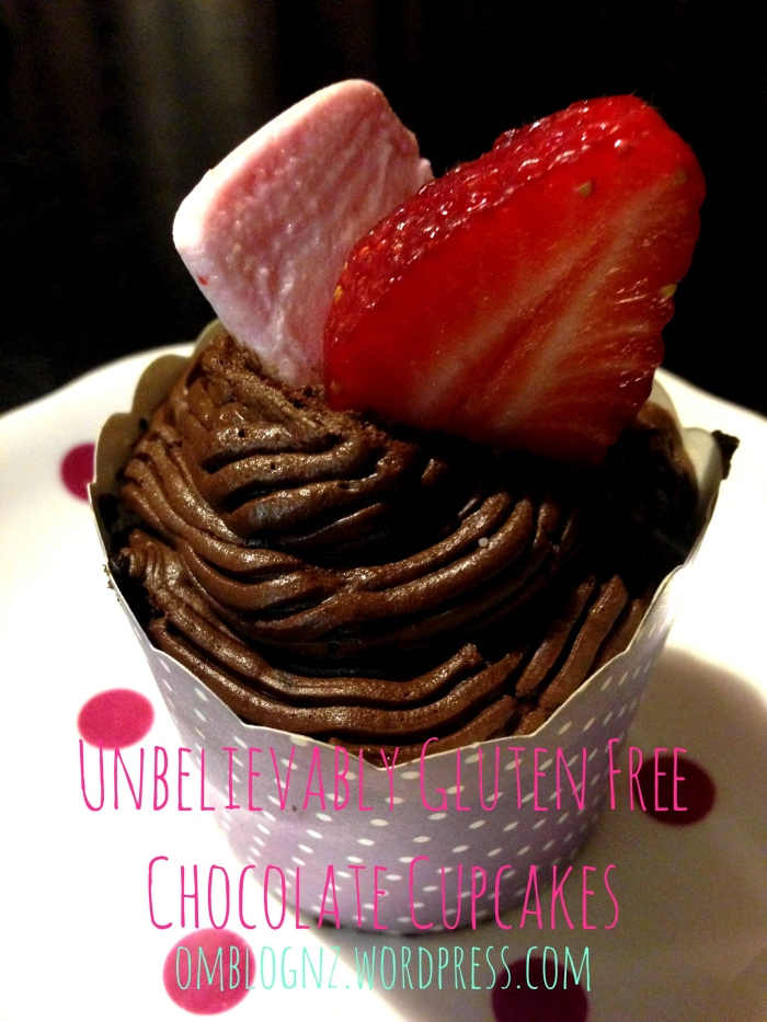 Purple, vintage, spotted, cup, cases, Unbelievably gluten free chocolate cupcakes, gluten, dairy, refined sugar, free, cupcake, chocolate, rice flour, brown, white, coconut sugar, almond milk, rice milk, baking, paleo, paleo friendly, paleo treats, diet, health, healthy, recipes, strawberry, marshmallow, frosting