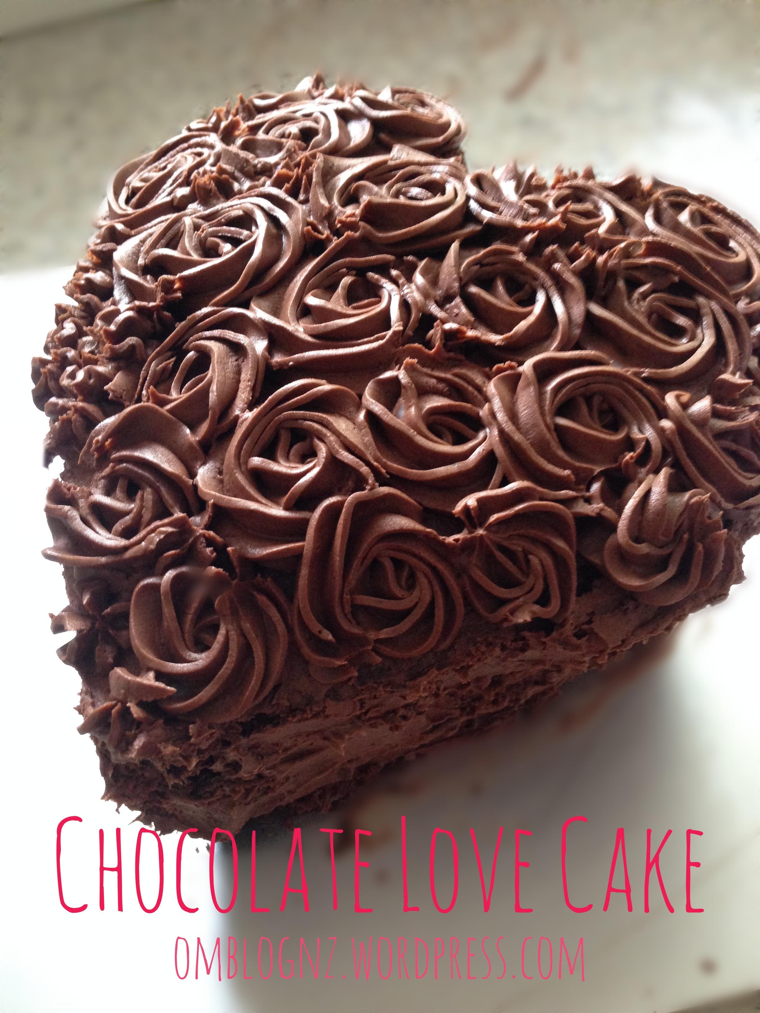 Chocolate Love Cake Images : Gluten Free Chocolate Love Cake   omBlog